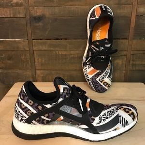 407a16d95 adidas. adidas Pure Boost X Animal Safari Print Sneakers